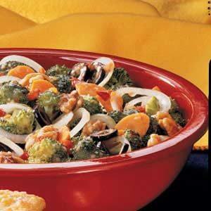 Marinated Broccoli Salad
