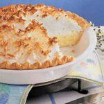 Coconut Cream Meringue Pie
