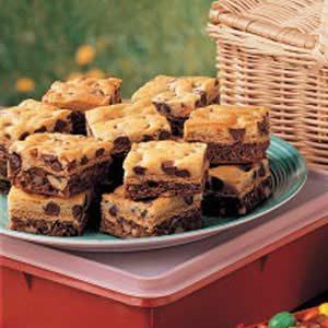 Layered Brownie Cookies