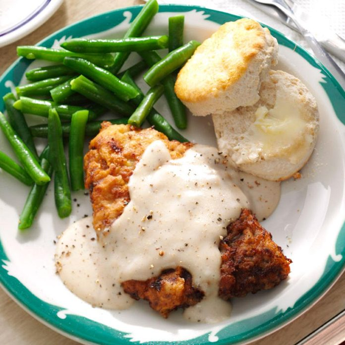 Oklahoma: Chicken-Fried Steak & Gravy