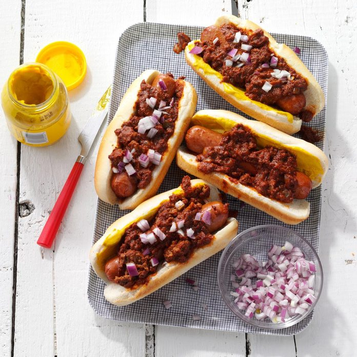My Favorite Chili Dogs