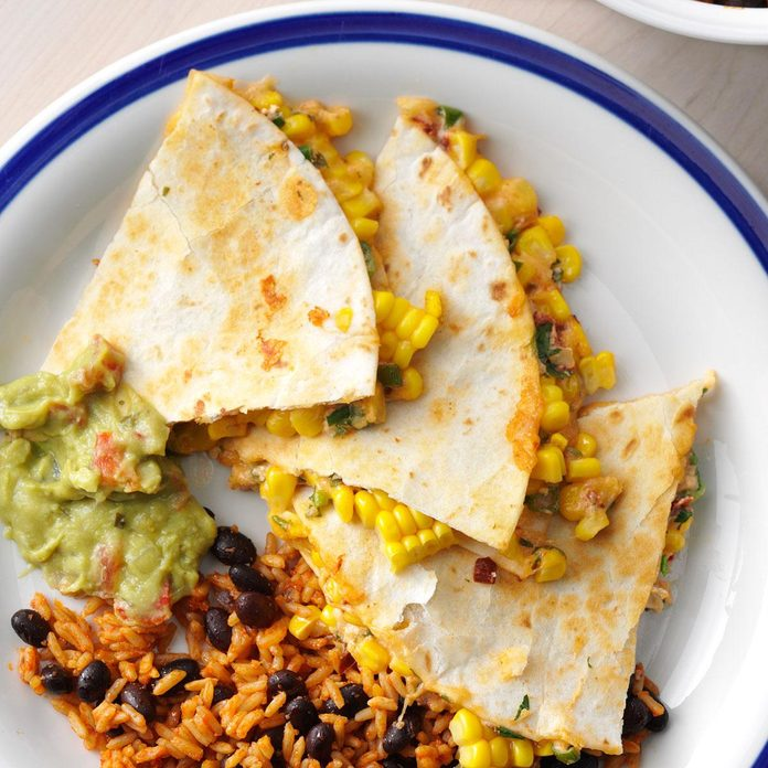 Day 5 Lunch: Corn Quesadillas
