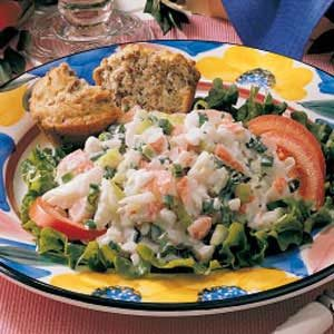 Cottage Cheese Crab Salad