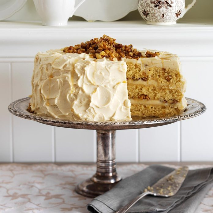 Maple Walnut Cake