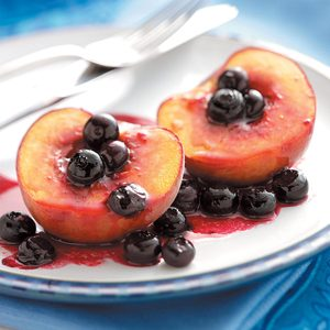 Grilled Peaches 'n' Berries