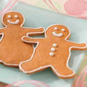 Butterscotch Gingerbread Men