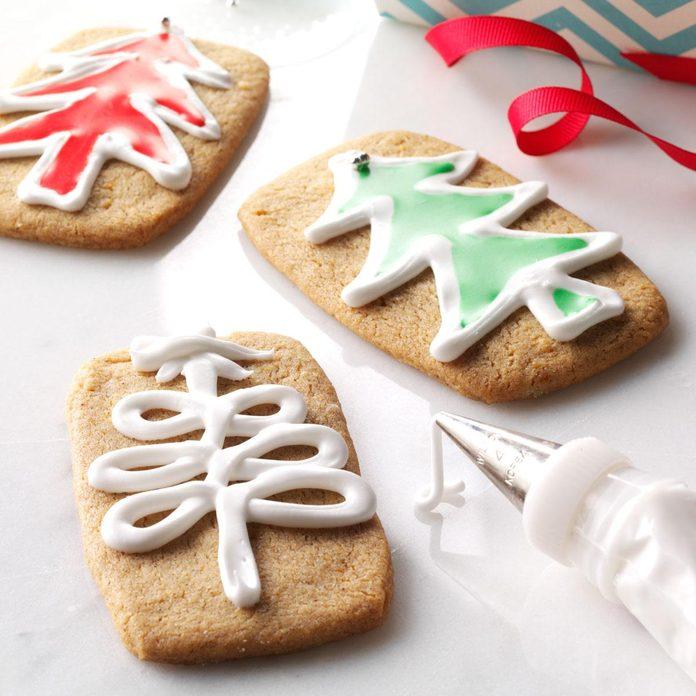 Orange & Spice Cutout Cookies