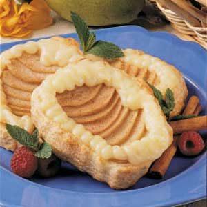 Almond Pear Tartlets