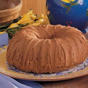 Chocolate Potato Cake with Mocha Frosting