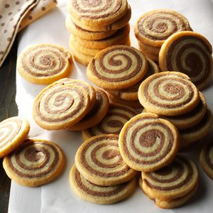 Basic Chocolate Pinwheel Cookies