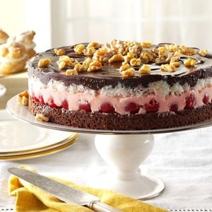 Cherry-Coconut Chocolate Torte