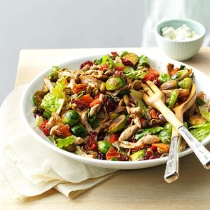 Chicken & Brussels Sprouts Salad
