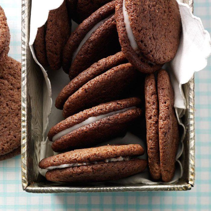 South Carolina: Contest-Winning Chocolate Mint Cookies