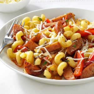 Sausage Skillet with Pasta & Herbs