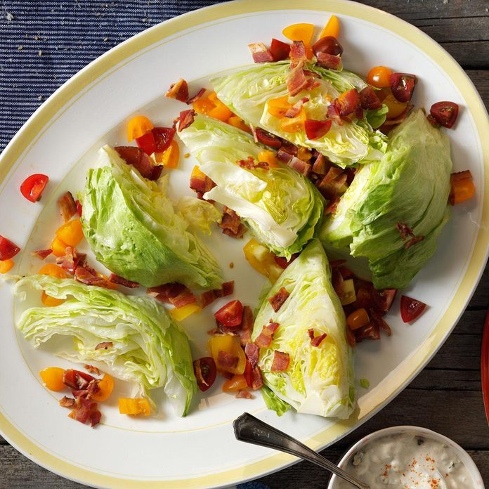 Inspired by Ruth's Chris Steakhouse Lettuce Wedge Salad