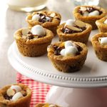 Rocky Road Cookie Cups