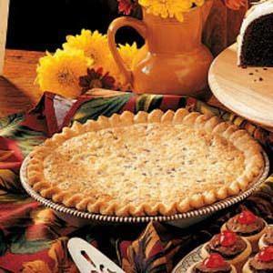 Classic Coconut-Pecan Pie