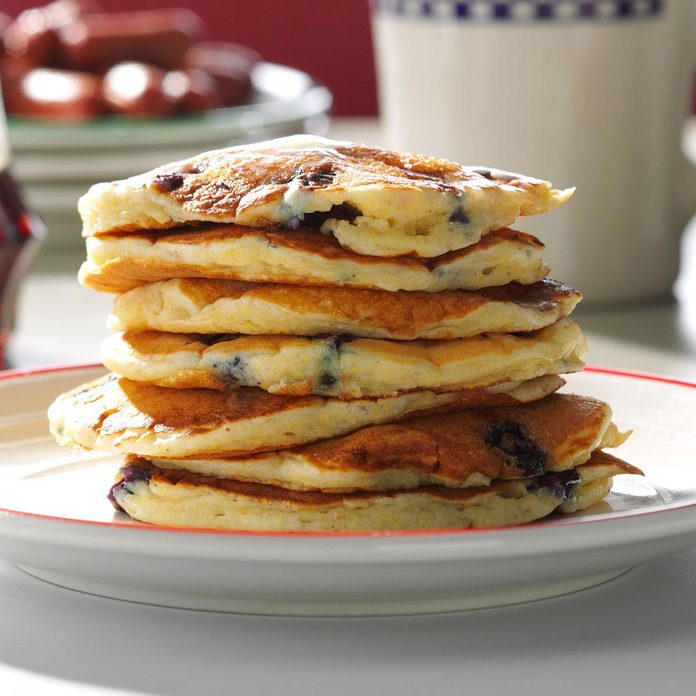 January 28: National Blueberry Pancake Day