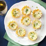 Garlic-Herb Mini Quiches