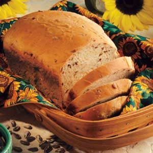 Sunflower Oatmeal Bread
