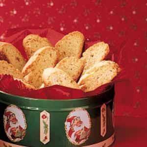 Cardamom Almond Biscotti