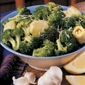 Zesty Broccoli and Artichokes