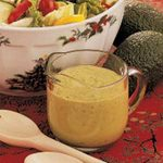Lemon Avocado Salad Dressing