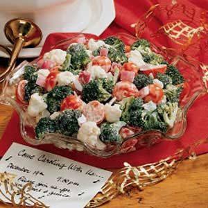 Christmas Crunch Salad