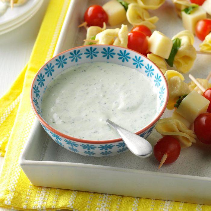 Fresh Basil Salad Dressing