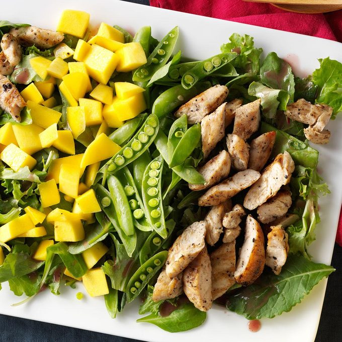 Mango & Grilled Chicken Salad