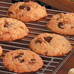 Toffee Malted Cookies