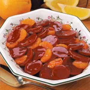 Mandarin Glazed Beets