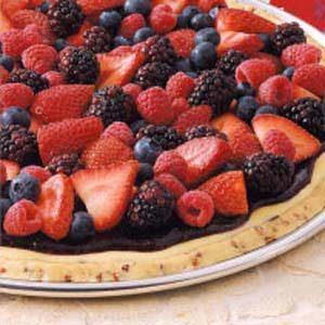 Brunch Berry Pizza