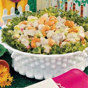 Creamy Cashew Chicken Salad