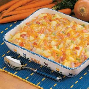 Makeover Ham 'n' Potato Bake
