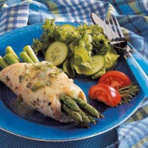 Chicken and Asparagus Bundles