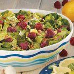 Salad with Raspberry Vinaigrette