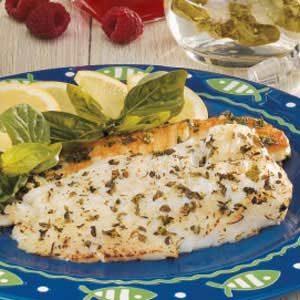 Basil-Marinated Fish