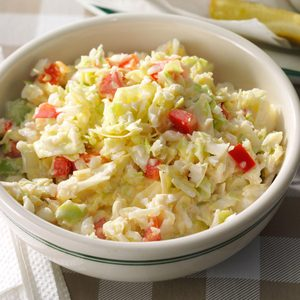 Mom's Chopped Coleslaw