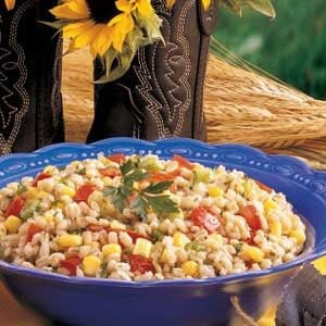 Colorful Barley Salad