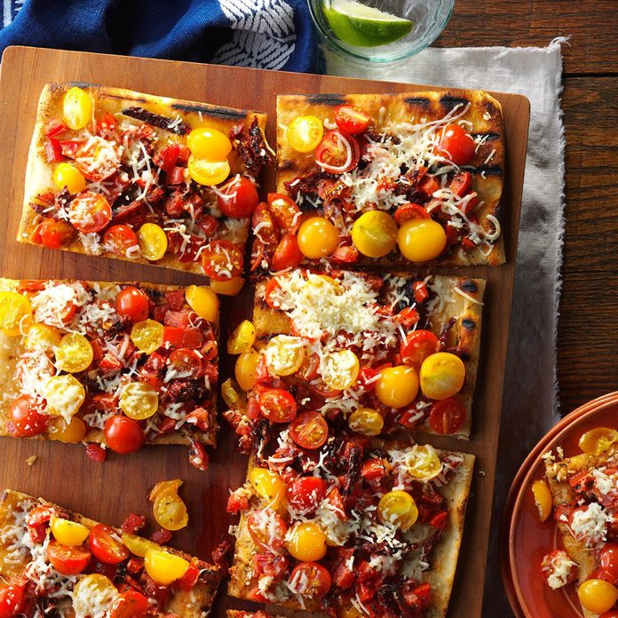 Triple Tomato Flatbread