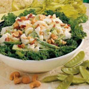 Cashew Snow Pea Salad