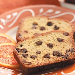 Orange Chocolate Chip Bread