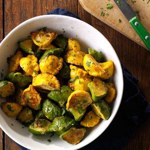 Garlic-Herb Pattypan Squash