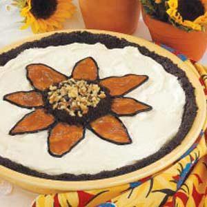 Sunflower Ice Cream Pie