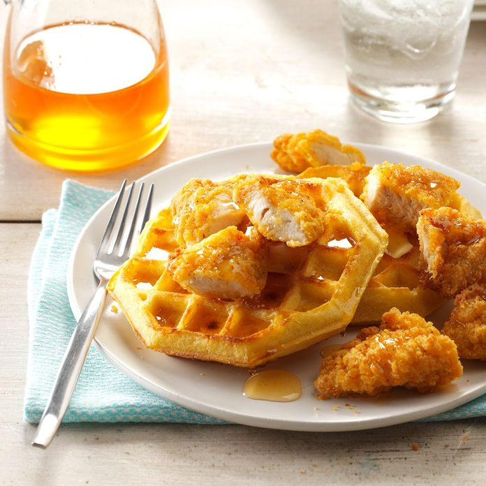 Inspired by: Honey-Chipotle Crispers & Waffles