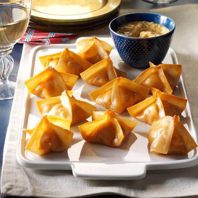 Inspired by: Panda Express Cream Cheese Rangoon