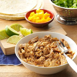 Green Chili Shredded Pork
