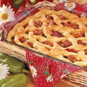 Barbecued Pork Potpie