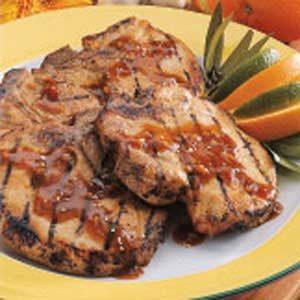 Orange-Ginger Pork Chops